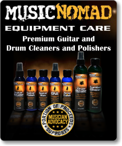 Music Nomad Equipment Care- Premium Guitar and Drum Cleaners and Polishers